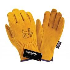 Спилковые перчатки Siberia DRIVER 0128 Thinsulate 3M